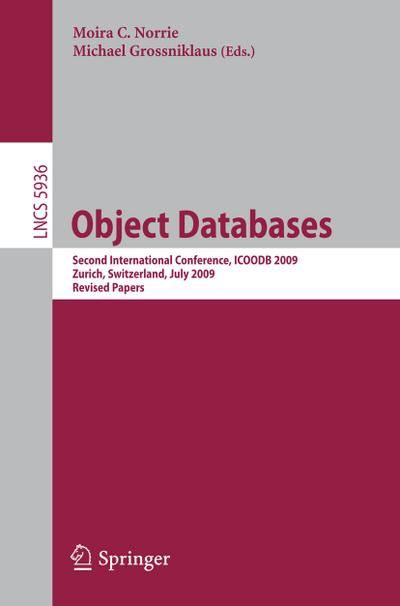 Object Databases - Moira C. Norrie