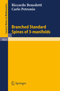 Benedetti, Riccardo;Petronio, Carlo: Branched Standard Spines of 3-manifolds