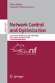 Network Control and Optimization - Eitan Altman; Augustin Chaintreau