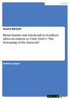 Ritual murder and witchcraft in Southern Africa in relation to Unity Dow's
