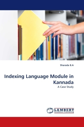 Indexing Language Module in Kannada - A Case Study