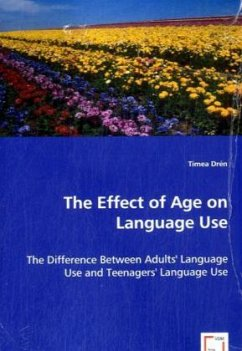 The Effect of Age on Language Use - Drén, Tímea