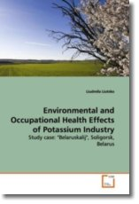 Environmental and Occupational Health Effects of Potassium Industry - Liutsko, Liudmila