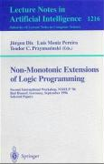 Non-Monotonic Extensions of Logic Programming