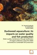 Duckweed aquaculture: its impacts on water quality and fish production