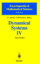 Dynamical Systems IV - V.I. Arnol'd; S.P. Novikov