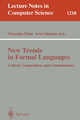 New Trends in Formal Languages - Gheorghe Paun; Arto Salomaa
