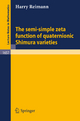 The semi-simple zeta function of quaternionic Shimura varieties - Harry Reimann