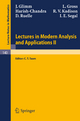 Lectures in Modern Analysis and Applications II - J. Glimm; C. T. Taam; L. Gross;  Harish-Chandra; R. V. Kadison; D. Ruelle; I. E. Segal